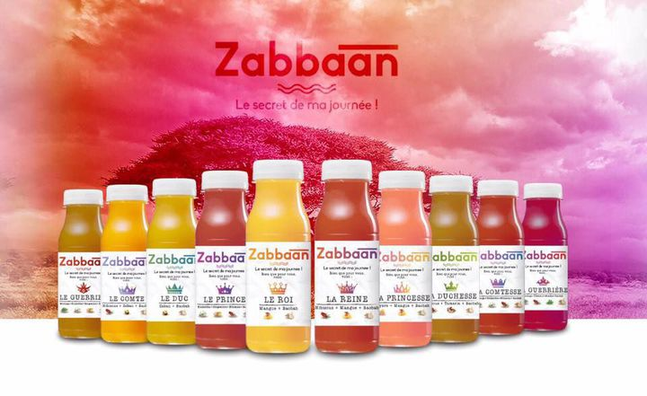 Les jus de fruits produits par Zabbaan Holding (DR/Zabbaan Holding)