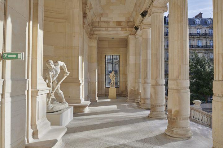 L'extérieur du Palais Galliera,musée de la Mode de la Ville de Paris, en 2020 (PIERRE ANTOINE)