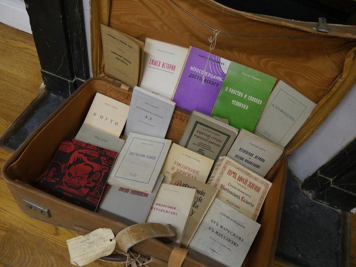 Les livres étaient passés clandestinement en Union Soviétique  (Laurence Houot / Culturebox)