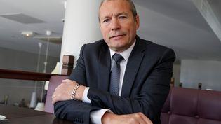 Jean-Michel Fauvergue, ancien patron du Raid et député de Seine-et-Marne, à Bussy-Saint-Georges, le 10 mai 2017. (FRANCOIS GUILLOT / AFP)