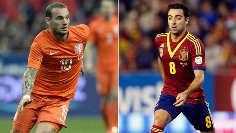 Espagne - Pays-Bas à 21h (FRANCK FIFE -  JOSE JORDAN / AFP)