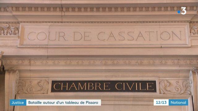 Justice : le combat d'un collectionneur pour récupérer un tableau de Pissarro