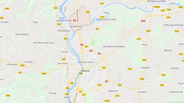 Capture d'écran Google Maps (GOOGLE MAPS / FRANCEINFO)