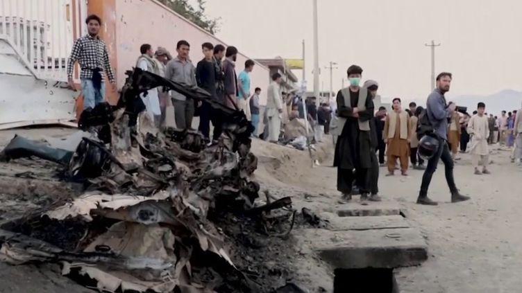 Afghanistan : un attentat à Kaboul fait au moins 50 morts. (FRANCE 3)