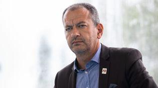 Pascal Pavageau, ancien secrétaire général de Force Ouvrière, le 29 août 2018. (CHRISTOPHE MORIN / MAXPPP)