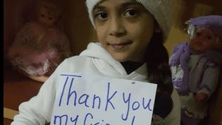 Photo de Bana, 7 ans, postée sur Twitter le 23 novembre 2016. (BANA AL ABED / FATEMAH AL ABED / TWITTER)