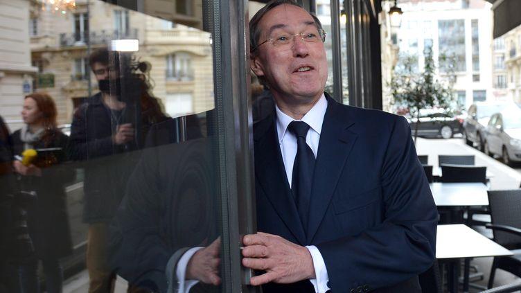 L'ancien ministre de l'Intérieur Claude Guéant, le 10 avril 2013 à Paris. (MIGUEL MEDINA / AFP)