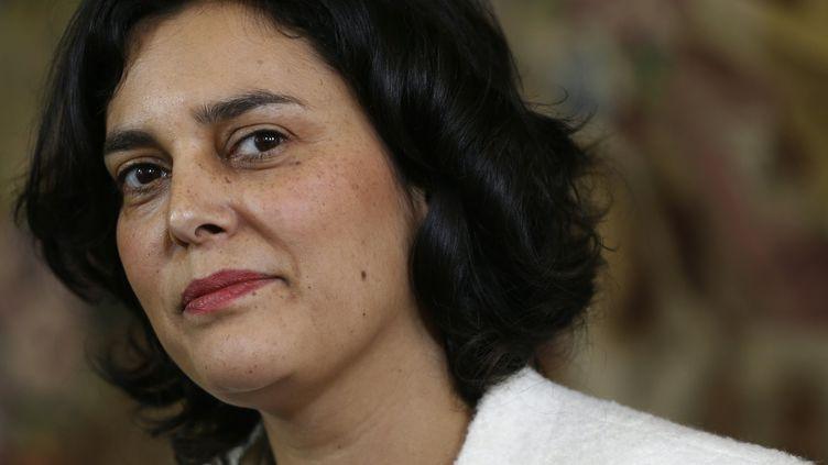 La ministre du Travail Myriam El Khomri, le 11 mars 2016 à Paris. (THOMAS SAMSON / AFP)