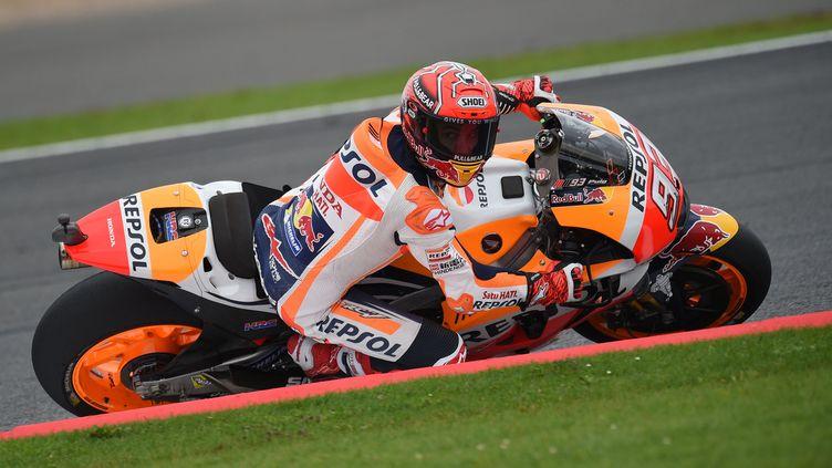 Marc Marquez (Honda) se balade (OLI SCARFF / AFP)
