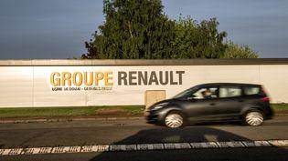 """L'usine de Renault à Douai (Nord), mise à l'arrêt après l'attaque du """"rançongiciel"""" WannaCry, le 15 mai 2017. (PHILIPPE HUGUEN / AFP)"""