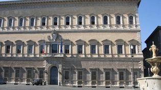 Le Palais Farnese, l'un des plus beaux édifices romains.  (Aubert / Sipa)