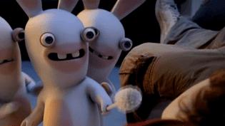 Les lapins crétins font le buzz sur le marché des jeux vidéo  (France2 / Culturebox)