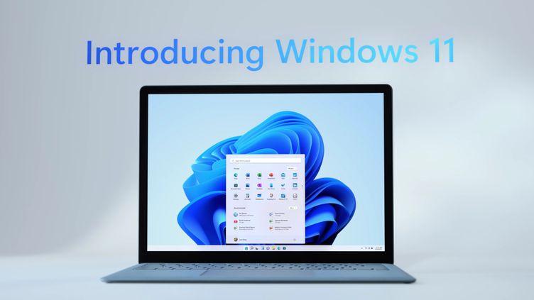 Windows 11, le nouveau système d'exploitation de Microsoft. (MICROSOFT)