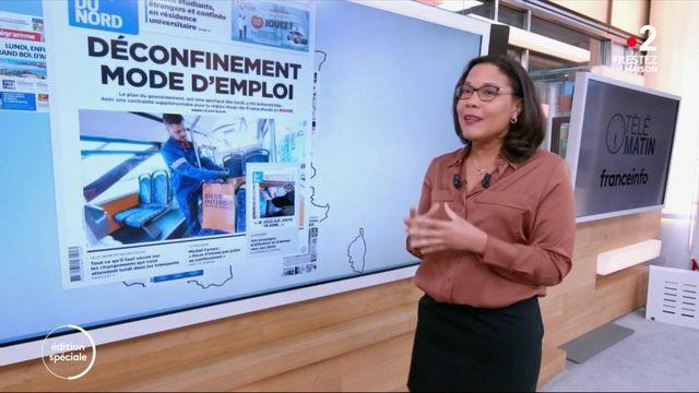 Déconfinement, régions en rouge, 11 mai... La revue de presse de Karine Baste-Régis