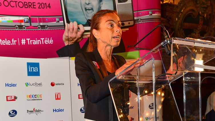 (Agnès Saal, ex PDG de l'INA, visée par une enquête préliminaire pour détournement de fonds publics aggravé © HARSIN ISABELLE/SIPA)