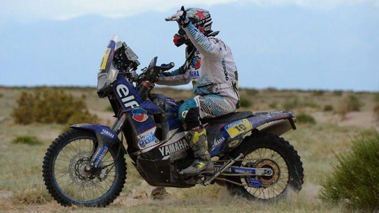 David Casteu (Yamaha) le malchanceux (FRANCK FIFE / AFP)