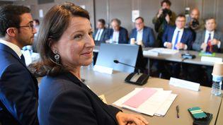La ministre de la Santé Agnès Buzyn, au ministère de la Santé, à Paris, le 9 septembre 2019. (ERIC FEFERBERG / AFP)