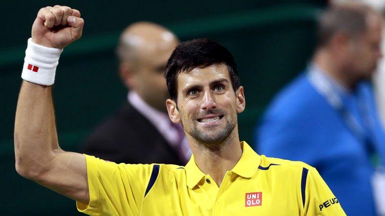 Djokovic a remporté une finale à sens unique à Doha (MOHAMED FARAG / ANADOLU AGENCY)