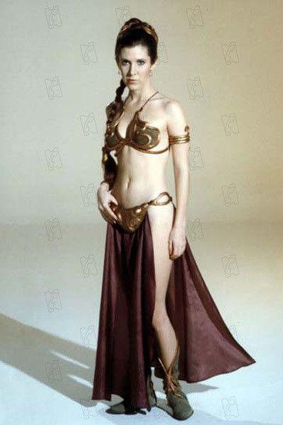 """Carrie Fisher dans le rôle de la princesse Leia dans """"Le Retour du Jedi"""" de Richard Marquand. (TWENTIETH CENTURY FOX)"""