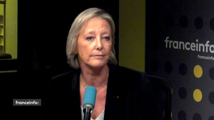 Sophie Cluzel, secrétaire d'Etat chargée des personnes handicapées, le 5 février 2019 sur franceinfo. (FRANCEINFO)