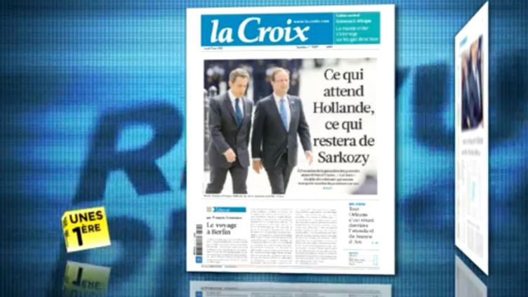 La revue de presse du 15 mai 2012. (LA 1ERE / FTVI)
