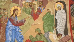La résurrection de Lazare. (PASCAL DELOCHE / GODONG / GODONG)