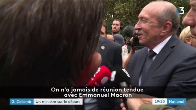 Gérard Collomb : un ministre sur le départ