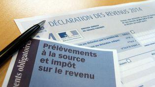 Le prélèvement à la source va peut-être être reporté (photo d'illustration). (JEAN-FRAN?OIS FREY / MAXPPP)