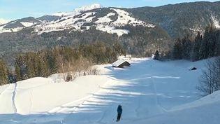 Station de ski des Rafforts, en Haute-Savoie (CAPTURE D'ÉCRAN FRANCE 3)