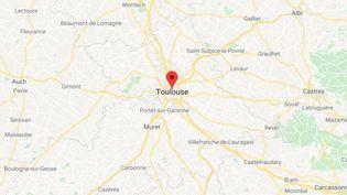 La ville de Toulouse en Haute-Garonne. (GOOGLE MAPS / FRANCETV INFO)