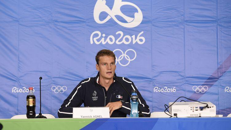 Yannick Agnel termine sur une triste note ces Jeux Olympiques (STEPHANE KEMPINAIRE / DPPI MEDIA)