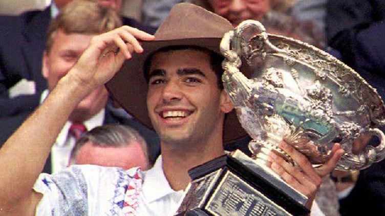 Pete Sampras, lauréat de l'Open d'Australie en 1994