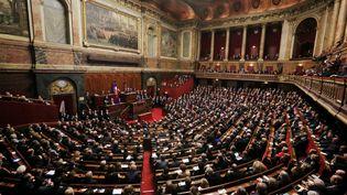 Le 16 novembre 2015, François Hollande s'était exprimé devant le Parlementréuni en Congrès à Versailles. (MAXPPP)