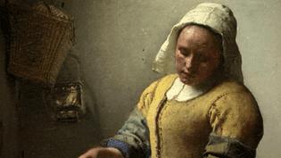 """""""La Laitière"""" de Vermeer au Louvre  (France 3 / Culturebox / capture d'écran)"""