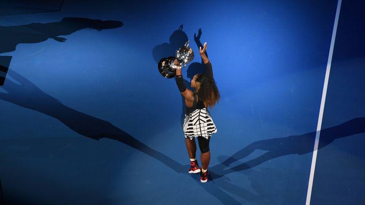 En janvier dernier, Serena Williams remportait l'Open d'Australie, son 23e titre du Grand Chelem en simple.