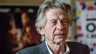"""Roman Polanski pendant la promotion de son film """"D'après une histoire vraie"""", le 2 mai 2018 à Cracovie (Pologne). (JAN GRACZYNSKI/SIPA)"""