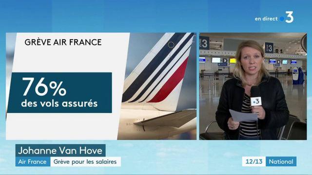Air France : grèves pour les salaires