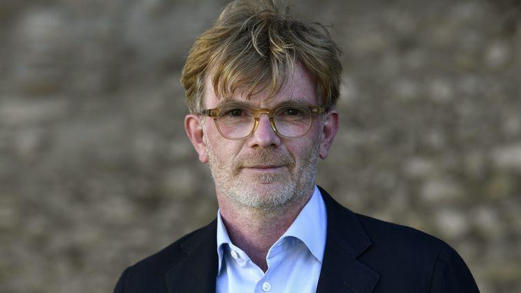 Marc Fesneau, candidat de la majorité dans le Centre-Val de Loire, le 23 avril 2021. (MAXPPP)