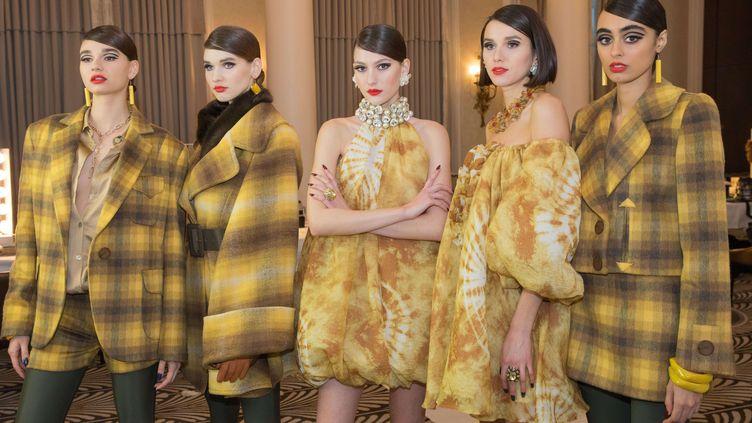 Collection automne-hiver 2021-22 de Paul Costelloe à la London Fashion Week, le 19 février 2021 (MEGAN KELLY THORN/PAUL COSTELLOE/SHUTTERSTOCK/SIPA / SHUTTERSTOCK)