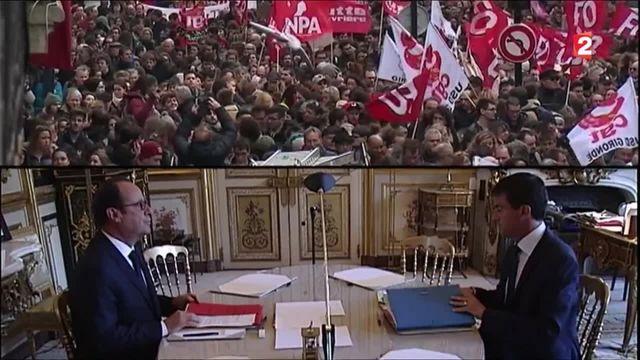 Réforme du Code du travail : les dernières retouches pour François Hollande et Manuel Valls