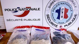 Saisie d'héroïne à Annecy en 2014 (NORBERT FALCO / MAXPPP)
