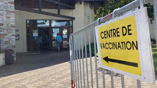 Le centre de vaccination deSaint-Paul-lès-Dax(Landes). (PAUL FERRIER / RADIO FRANCE)