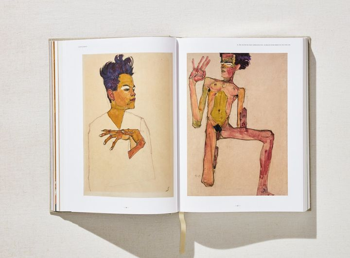 """""""Egon Schiele L'oeuvre complet"""", planche (Taschen)  (Taschen))"""