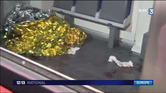 Allemagne : quatre blessés grave dans une attaque à la hache et au couteau dans un train