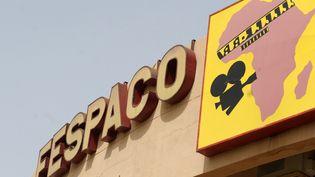 Siège du Fespaco, Festival panafricain du cinéma et de télévision de Ouagadougou. Photo prise en 2019. (ISSOUF SANOGO / AFP)