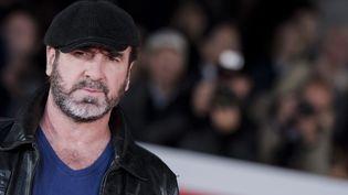 Eric Cantona, le 19 octobre 2015, à Rome. (MASSIMO VALICCHIA / AFP)