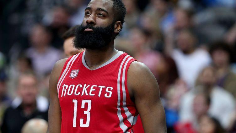 Le joueur des Rockets, James Harden