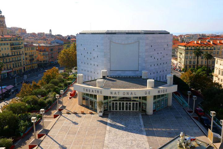 Le théâtre national de Nice (Alpes-Maritimes), le 2 février 2017. (MAXPPP)
