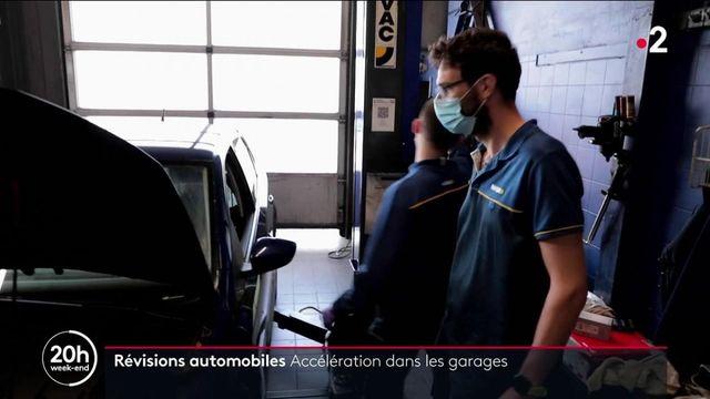 Déconfinement : les révisions automobiles en hausse dans les garages