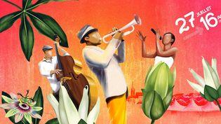 L'affiche de Jazz in Marciac 2015 (détail)  (DR)